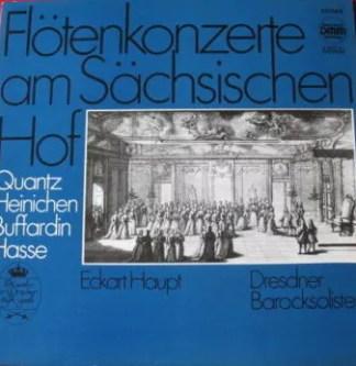 Eckart Haupt, Dresdner Barocksolisten - Flötenkonzerte Am Sächsischen Hof (LP, DMM)