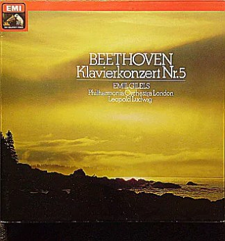 Beethoven*, Emil Gilels, Philharmonia Orchestra London*, Leopold Ludwig - Klavierkonzert Nr. 5 (LP, Album)
