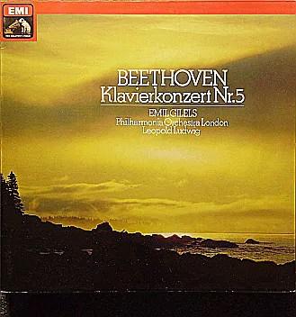 Beethoven*, Emil Gilels, Philharmonia Orchestra London*, Leopold Ludwig - Klavierkonzert Nr. 5 (LP, Album)