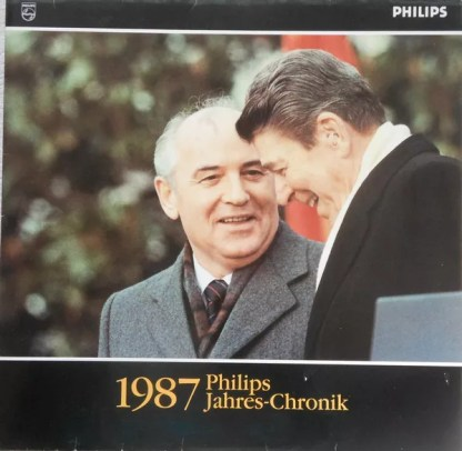Various - Philips Jahres-Chronik 1987 (LP, Comp, Promo)