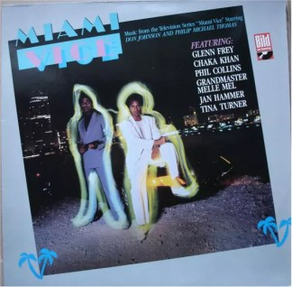 Various - Miami Vice (Music From The Television Series) (LP, Comp)