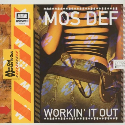"Mos Def - Workin' It Out (12"", Single)"