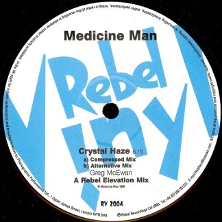 "Medicine Man - Girls / Crystal Haze (12"")"