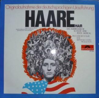 """Haare"" Ensemble - Haare (Hair) (LP, Album)"