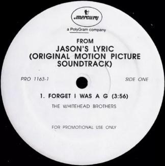 "Various - Jason's Lyric (Original Motion Picture Soundtrack) (12"", Promo, Smplr)"