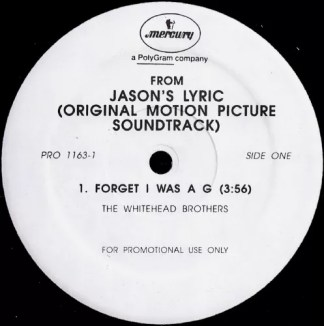 "Various - Jason's Lyric (Original Motion Picture Soundtrack) (12"", Promo, Smplr)"