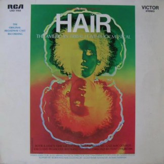 Various - Hair - The Original Broadway Cast Recording (LP, Album, RE)