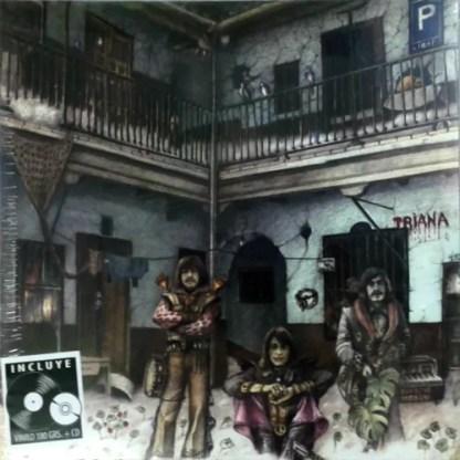 Triana (2) - El Patio (Gat   LP, Album, RE, RM   CD, Album, RE, RM)
