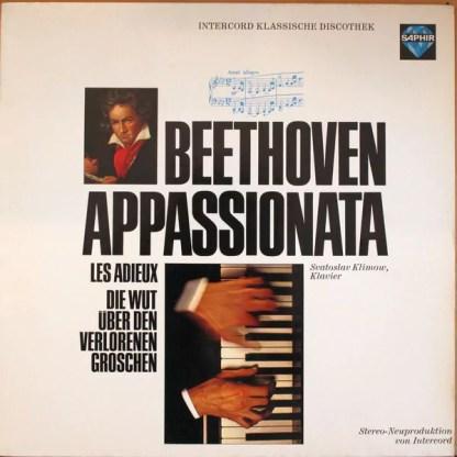 Beethoven* - Svatoslav Klimow - Appassionata - Les Adieux - Die Wut Über Den Verlorenen Groschen (LP)