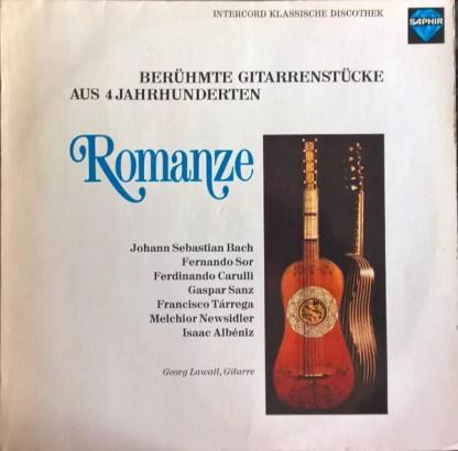 Georg Lawall - Romanze - Berühmte Gitarrrenstücke aus 4 Jahrhunderten (LP)