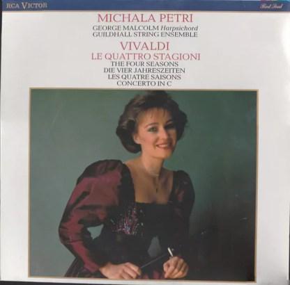 Michala Petri - Vivaldi - Le Quattro Stagioni Op. 8, Nos 1-4 (LP, Album)