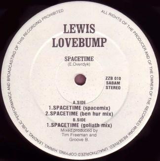 """Lewis Lovebump - Spacetime (12"""")"""