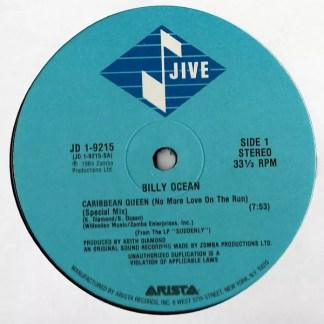 "Billy Ocean - Caribbean Queen (No More Love On The Run) (12"", Gen)"