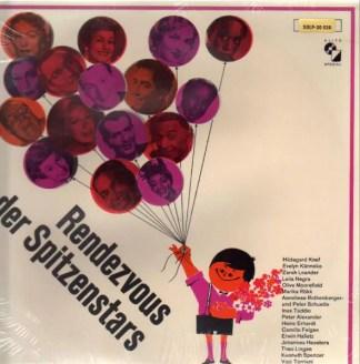 Various - Rendezvous der Spitzenstars (LP, Comp)
