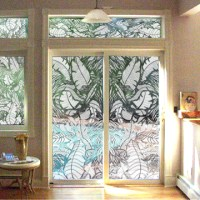 Vinyl etched decorative decals. The look of real etched
