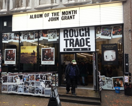 Rough Trade Plattenladen in London