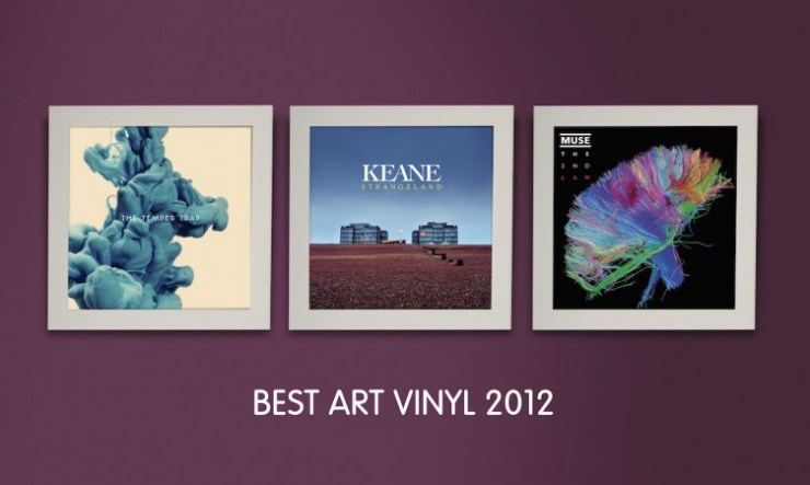 Die schönsten Plattencover 2012