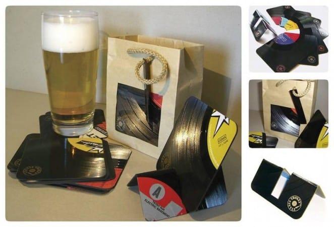 Vinyl Christmas (4) - Visitenkarten und mehr von TROXXY Vinylz
