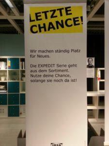 Das Expedit Regal wird von IKEA eingestellt - jetzt noch mal zuschlagen!