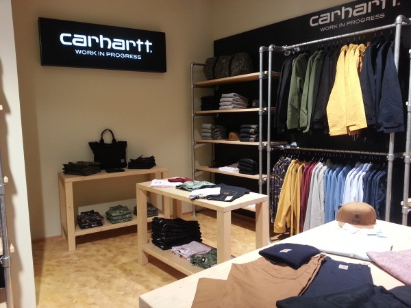 Carhartt Shop im hhv selected store Berlin