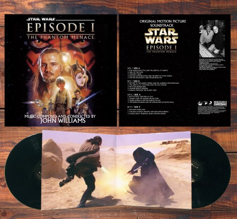 Star Wars Episode I Soundtrack auf Vinyl