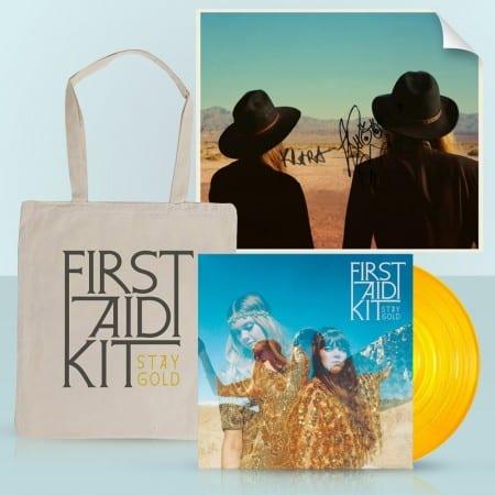 First Aid Kit - Stay Gold auf goldenem Vinyl vorbestellen
