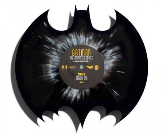 Batman: Animated Series als Single auf splattered Die-Cut Vinyl
