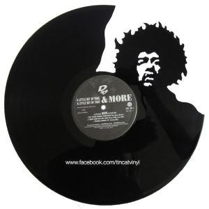 Tincat - Vinyl Art Jimi Hendrix