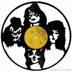 Tincat - Vinyl Art Kiss Band