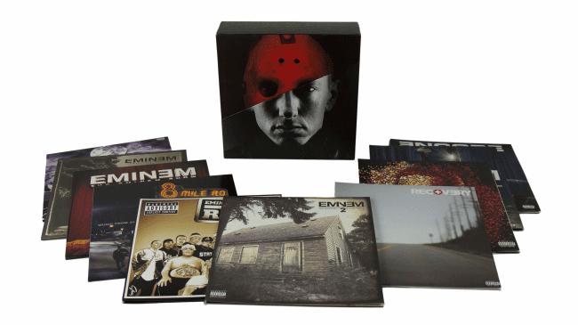 Eminem Werkschau als Vinyl Boxset