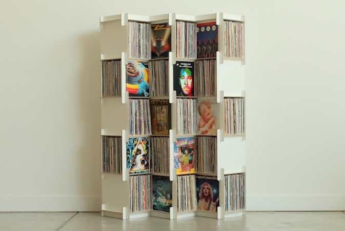 Grow - Kickstarter-Projekt zur Vinylaufbewahrung