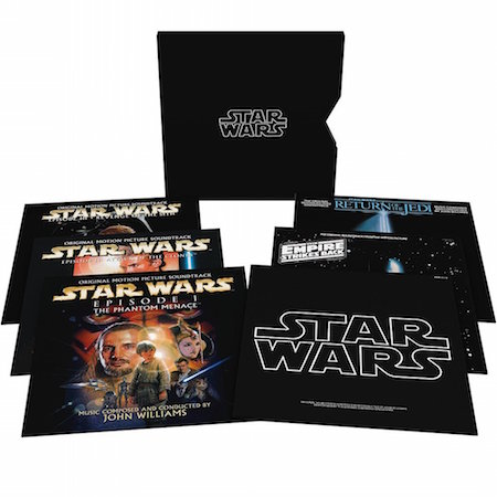 Soundtrack der Star Wars Saga als Vinyl Boxset