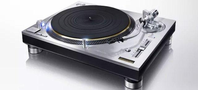 Der Technics SL 1200GAE Plattenspieler kommt im Sommer 2016