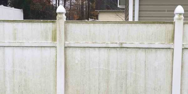 Clean Pvc Vinyl Fence Direct Fencing Supply