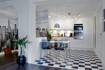 cocina-con-piso-vinilico-ajedrez-residencial
