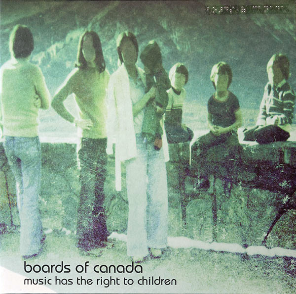 BOARDS OF CANADA - MUSIC HAS RIGHT TO CHILDREN LP