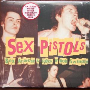 SEX PISTOLS - SEX ANARCHY & ROCK N' ROLL SWINDLE LP