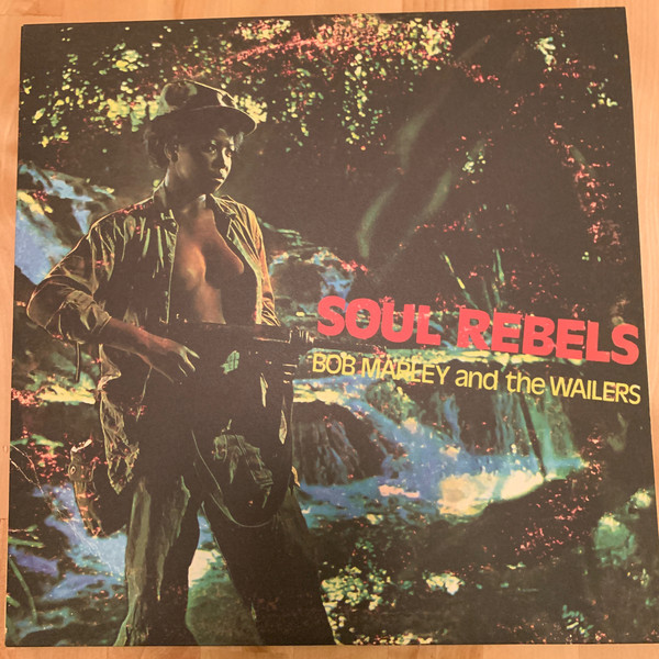 BOB MARLEY - THE WAİLERS - SOUL REBELS - LP, Limited Edition, Reissue, Stereo, Green Vinyl