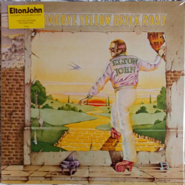 ELTON JOHN-GOODBYE YELLOW BRICK ROAD- 2 × Vinyl, LP, Album, Limited Edition, Picture Disc, Remastered