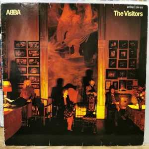 ABBA - THE VISITORS - Vinyl, LP, Album, Stereo