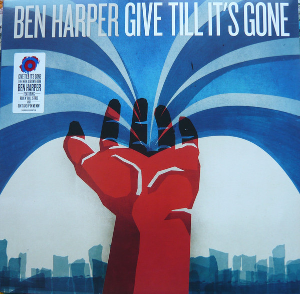 BEN HARPER - GIVE TILL LT S GONE - Vinyl, LP, Album