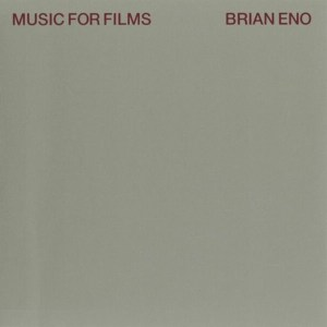 BRIAN ENO - MUSIC FOR FLIMS- Vinyl, LP, Album, Reissue, Remastered, 180 gr.