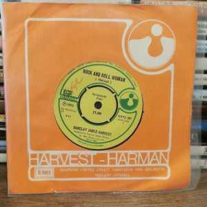 BARCLAY JAMES HARVEST – ROCK AND ROLL WOMAN / THE JOKER - 45 LİK