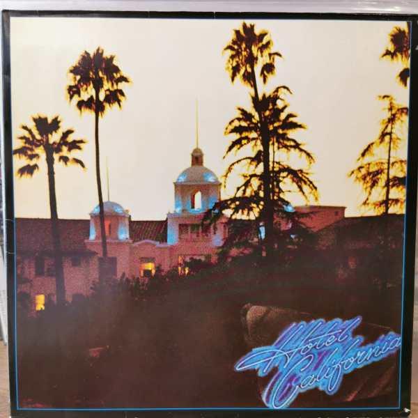 EAGLES - HOTEL CALIFORNIA - Vinyl, LP, Album, Gatefold
