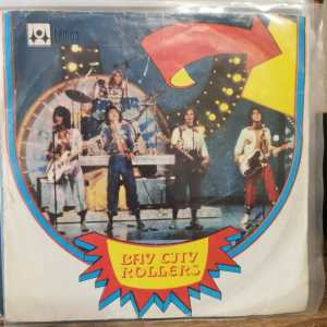 BAY CITY ROLLES - SHANGHAI IN LOVE - ROCK AND ROLL LOVE LETTER 45 LİK