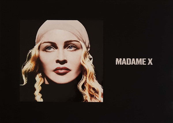 "MADONNA - MADAME X - Box Set, Deluxe Edition, Limited Edition 2 × CD, Album Cassette, Album Vinyl, 7"", Picture Disc"