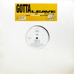 702 - GOTTA LEAVE MAXİ SINGLE VINYL, PLAK