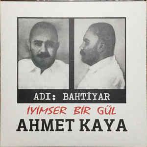 AHMET KAYA - ADI BAHTIYAR - İYIMSER BIR GÜL - Vinyl, LP, Album, - PLAK