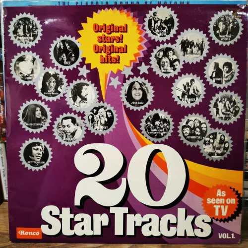 20 STAR TRACKS VOL. 1 - Vinyl, LP, Album, Compilation, Stereo, Mono - JOAN BAEZ- OLIVIE NEWTON-JETHTO TULL VB...- PLAK