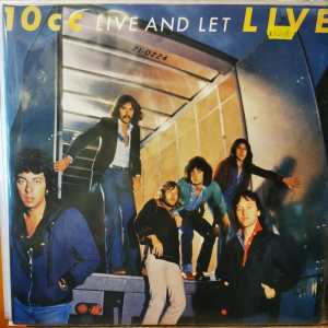 10CC- LIVE AND LET LIVE -Vinyl, LP, Album, Stereo - PLAK
